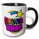 Colorful Awesome Chef Coffee Mug