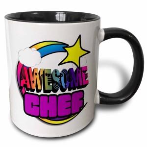 Colorful Awesome Chef Coffee Mug