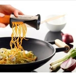 Stainless Steel Vegetable Spiral Slicer Gift for Home Cooks