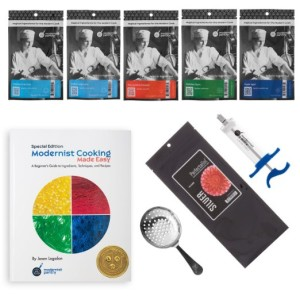 Complete Beginner Molecular Gastronomy Kit for Cooking Geeks