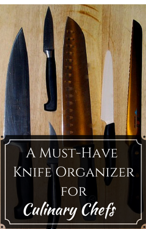 Knife Organizer Case for Culinarians