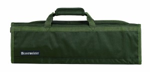 Green Knife Organizing Case for Culinarians