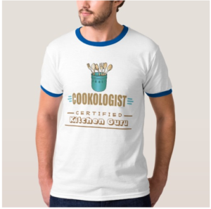 Cookologist Certified Kitchen Guru T-Shirt for the Cooking Genius