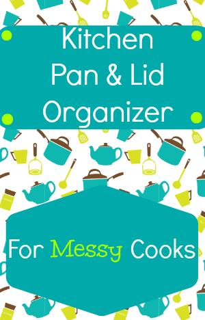 Countertop pan organizer
