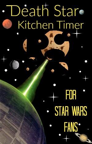 Novelty Death Star Kitchen Timer
