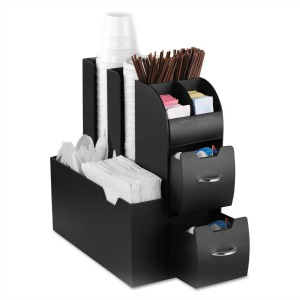 Compact Coffee Accessories Organizer and Storage