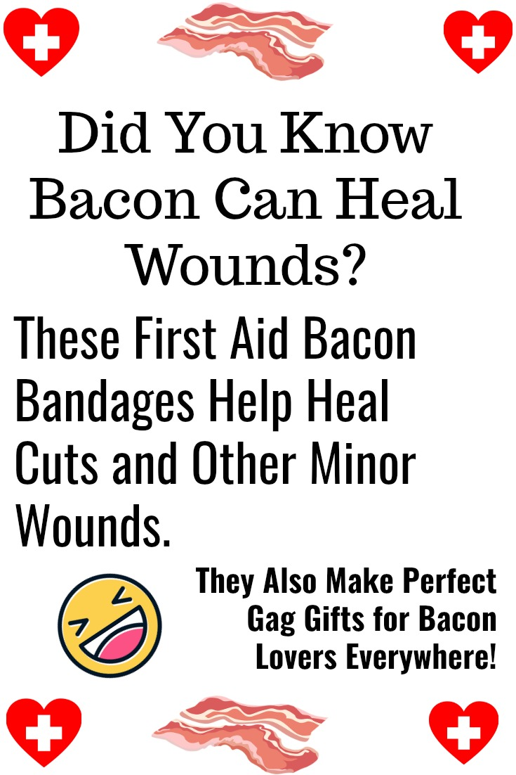 Fun Bacon First Aid Bandages
