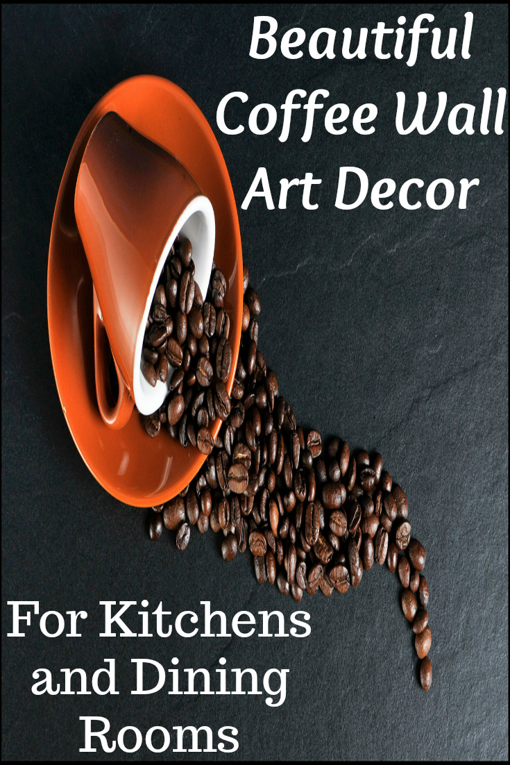 Coffee Cup Kitchen Wall Art