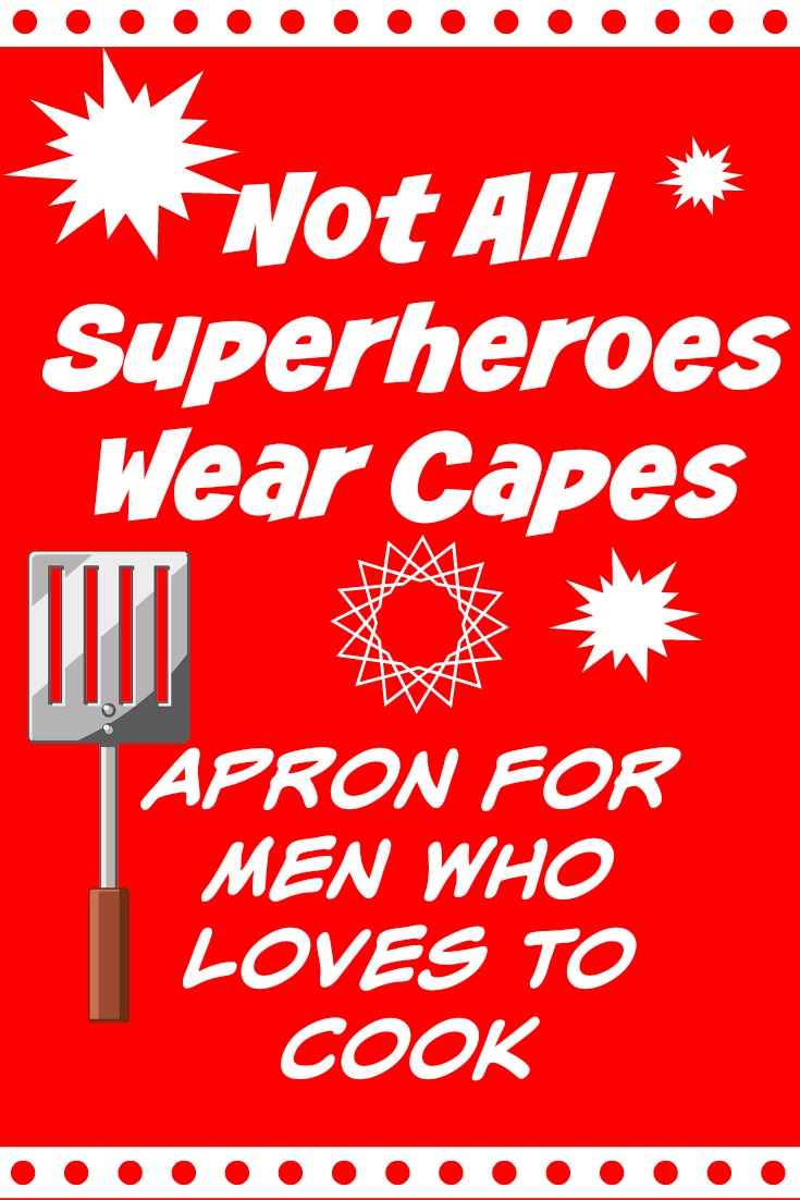 Superhero Chef Apron