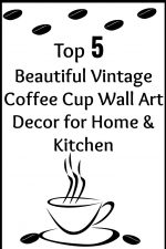 Top Five Vintage Coffee Cup Wall Decor