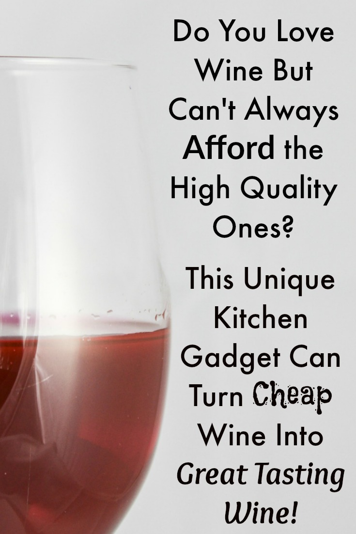 Wine Enhancing Kitchen Gadget